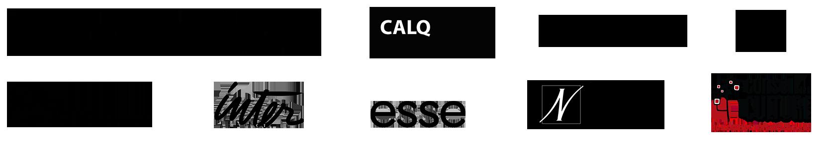 6e Biennale logos